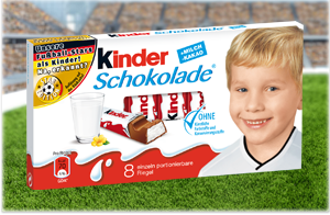 kinder schokolade dfb