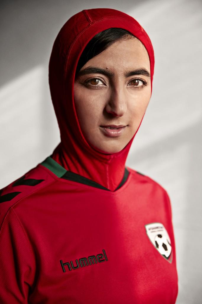 Khalida Popal, langjährige Kapitänin der afghanischen Nationalmannschaft