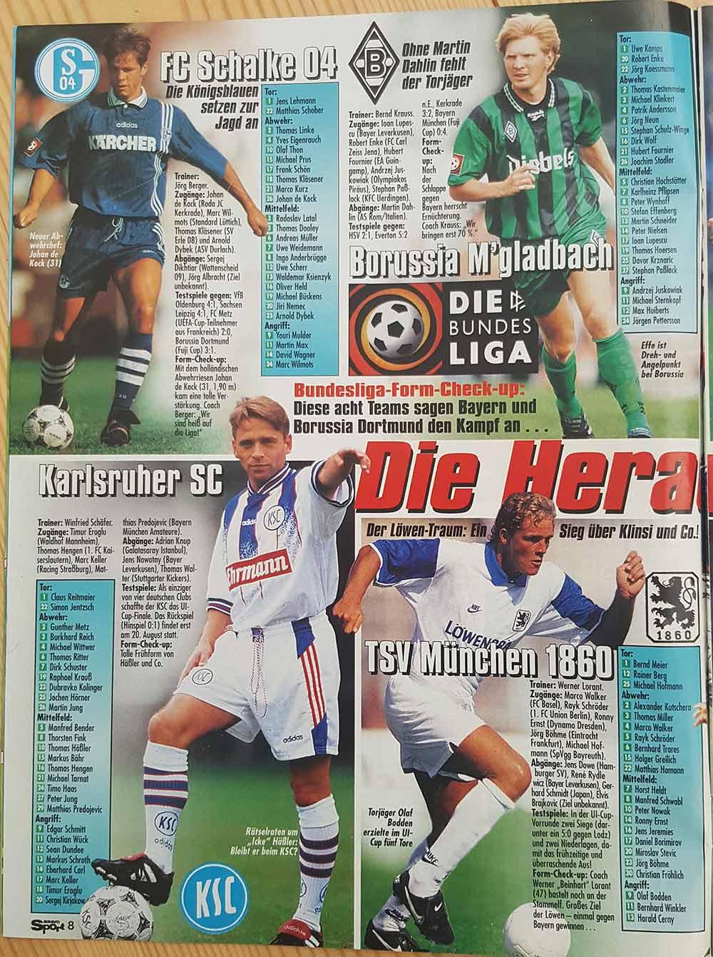 Bravo Sport Ausgabe 18 / 1996